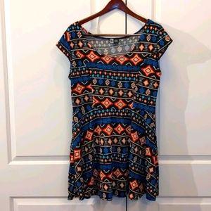 Vibe Sportswear print dress - SS099